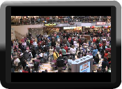Switch Access to Joy to the World Christmas Food Court Flash Mob.
