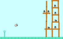 Cause and Effect Angry Pig Catapult Games Level 2 for Special Needs