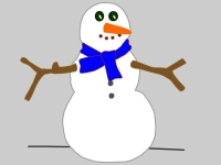 Build a snowman - cause and effect switch game